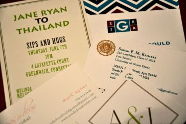 Small Stationery Details