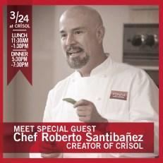 Chef Roberto Santibañez Meet and Greet