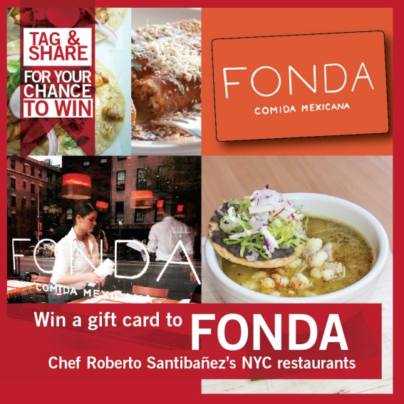 Chef Roberto Santibañez Fonda gift card
