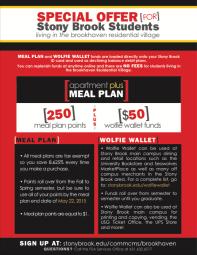 Meal Plan Fact Sheet SBU