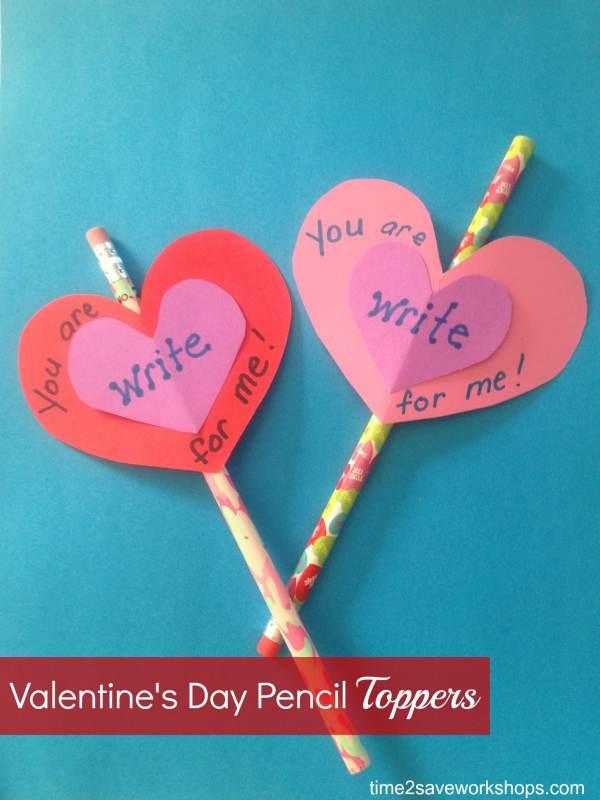 Homemade Valentine Ideas: DIY Valentine's Day Pencil ...