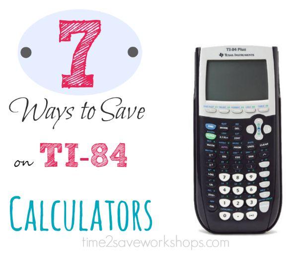 7 Ways to Save on TI-84 Graphing Calculators   Kasey Trenum
