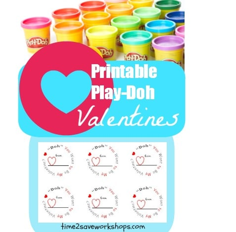 photograph regarding Play Doh Valentine Printable named 23 Printable Valentine Playing cards for Lecturers and Clmates