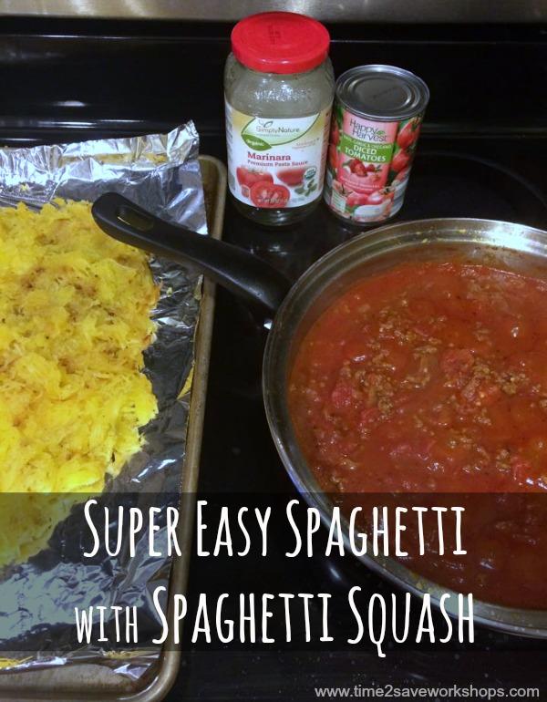Spaghetti with Spaghetti Squash