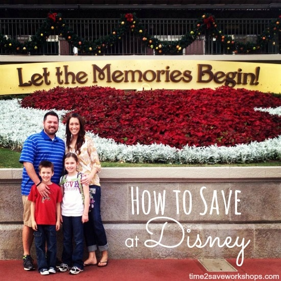 how to save at disney