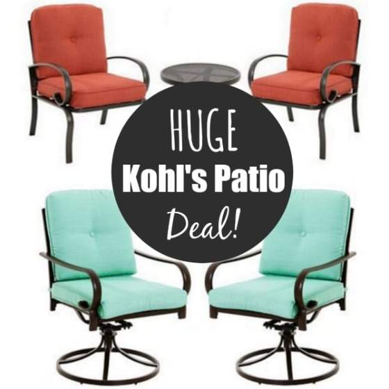 Kohl's | SONOMA Patio Furniture Sets from $169! | Kasey Trenum