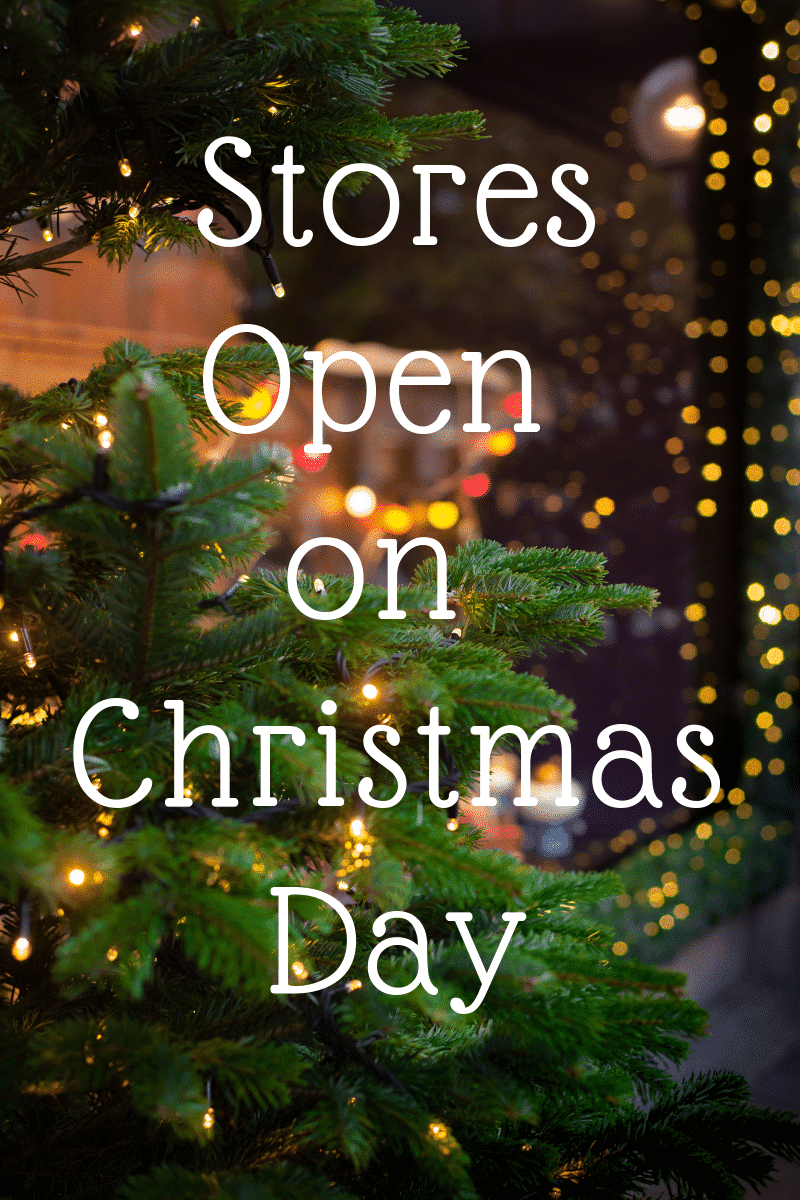 Christmas Day 2020 Christmas Day 2020: List of Stores Open | Kasey Trenum