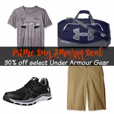 Prime Day Under Armour