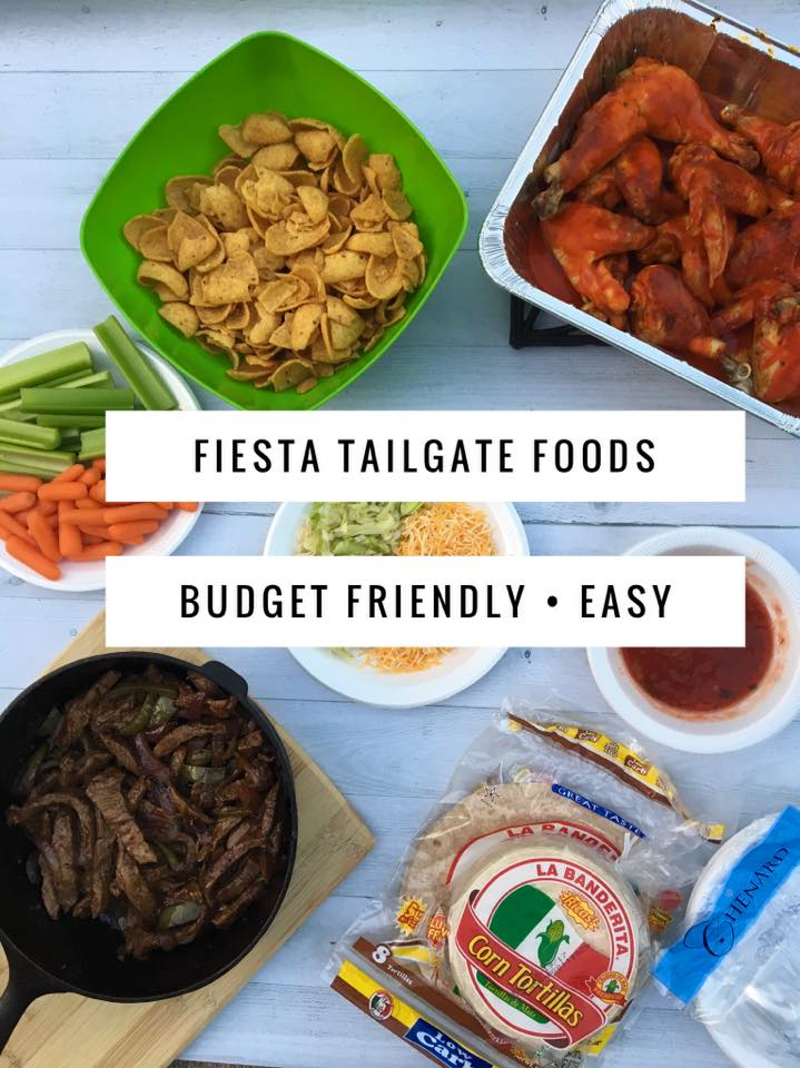 Easy Budget Friendly Spring Decorating: Fiesta Tailgate Party {Budget Friendly & Easy}