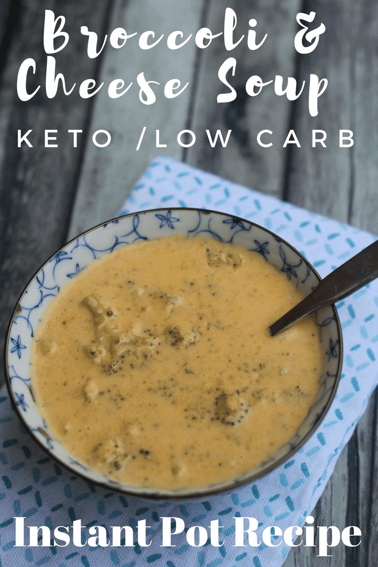 Instant Pot Keto Broccoli Cheese Soup is an easy meal that you will love making for your family. The Instant Pot cuts back on the time spent in the kitchen making this a perfect keto soup recipe!
