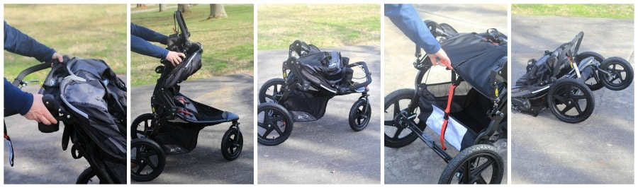 BOB Stroller Review Fold Stroller collage