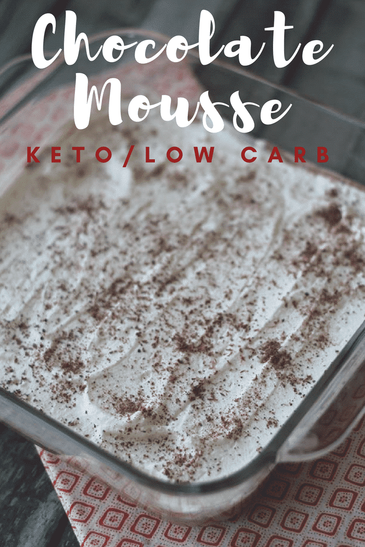 Keto Easy Chocolate Mousse is a perfect option to beat cravings while adding fats and flavor to your day. Make this in minutes for a fast snack!