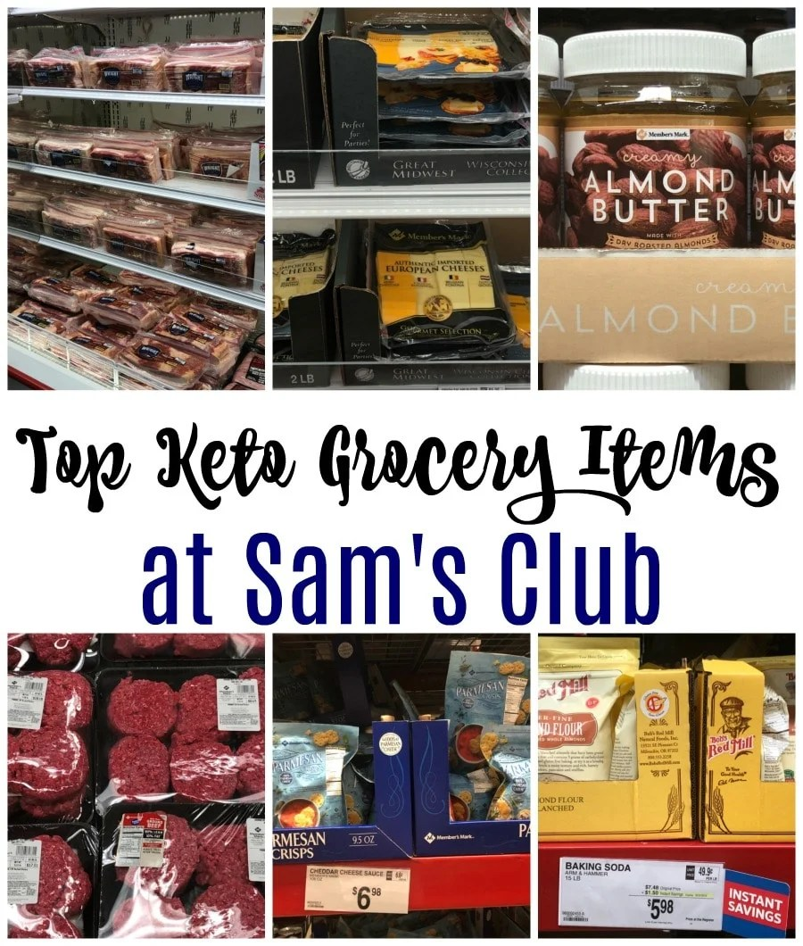 Top Keto Items Sam's Club Shopping List is a perfect place to look when planning your next trip to this popular warehouse store.  Tons of great keto items!