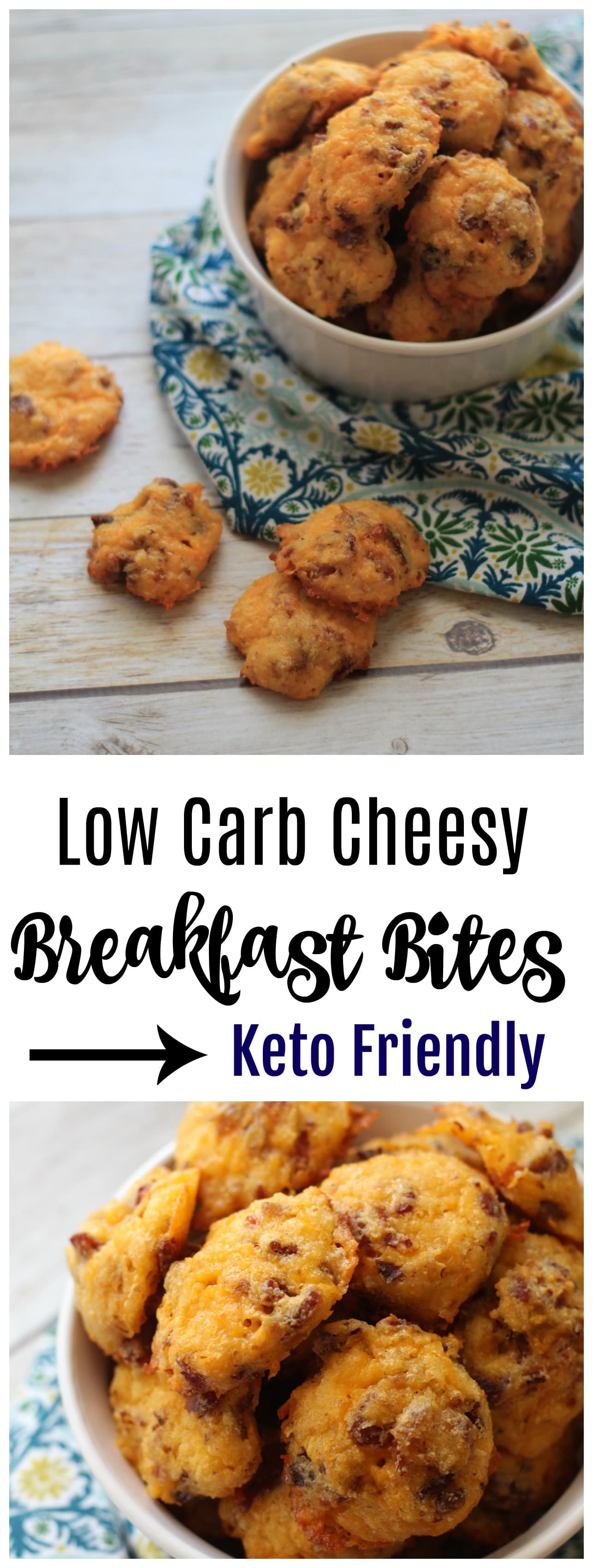 This Cheesy Bacon Coconut Flour Biscuits Recipe is a perfect option for make ahead breakfasts that everyone will enjoy. Full of great keto friendly flavor!