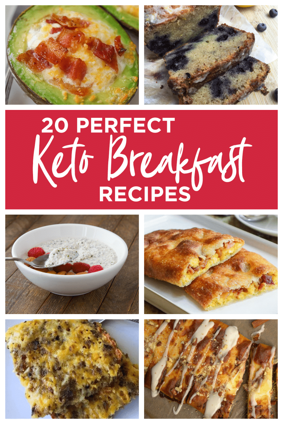 Check out our list of 20 Perfect Keto Breakfast Recipes that are sure to satisfy your cravings for breakfast! Foods like these are perfect great keto breakfast recipes!