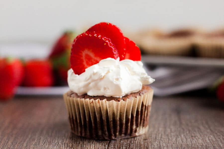 If you are looking for a low carb dessert option, these quick and easyKeto Chocolate Cheesecake Muffins are the perfect solution for a chocolaty delicious and simple treat. #keto #lowcarb