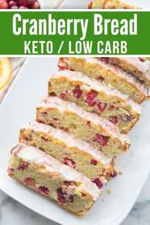 Keto Image Cranberry Orange Bread