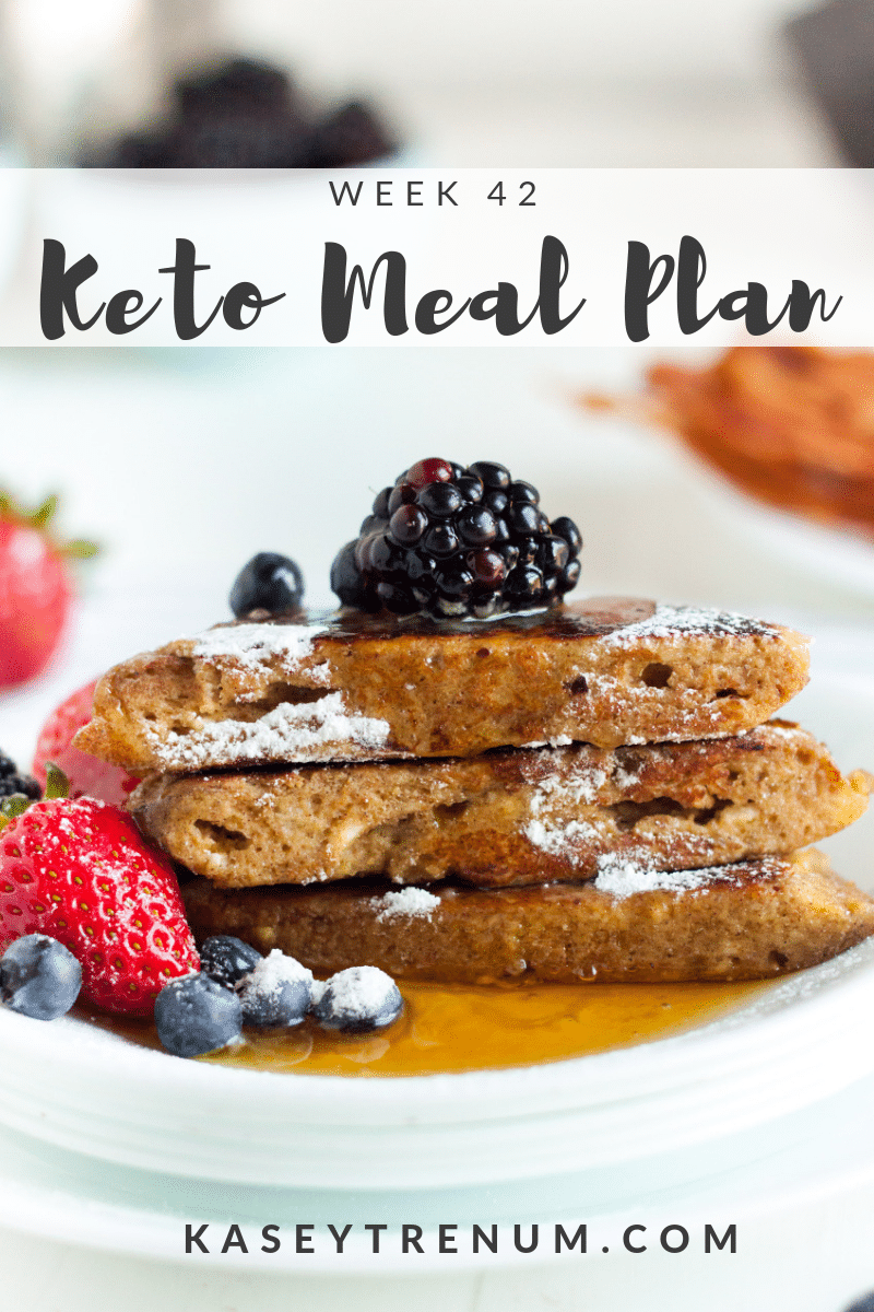 This Keto Diet Plan for Beginners is week 42 of our simple and delicious meal plans. All of the recipes include meals that are easy to make and taste amazing while being family friendly.