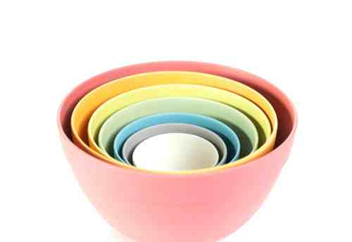 Pastel 7 piece Mixing Bowls