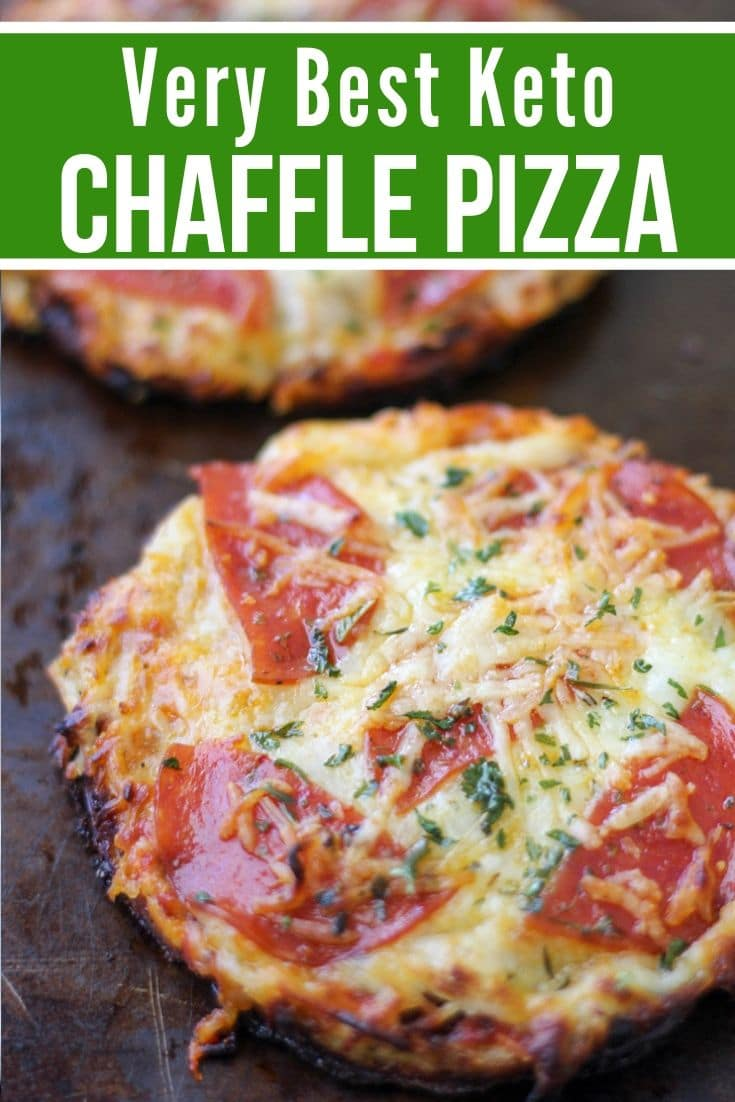 The Best Keto Pizza Chaffle Recipe Kasey Trenum