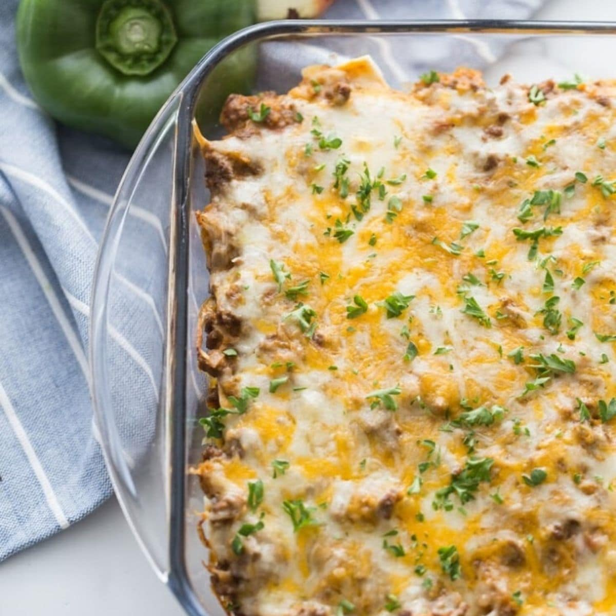Cheesy Mexican Taco Casserole Low Carb   Kasey Trenum