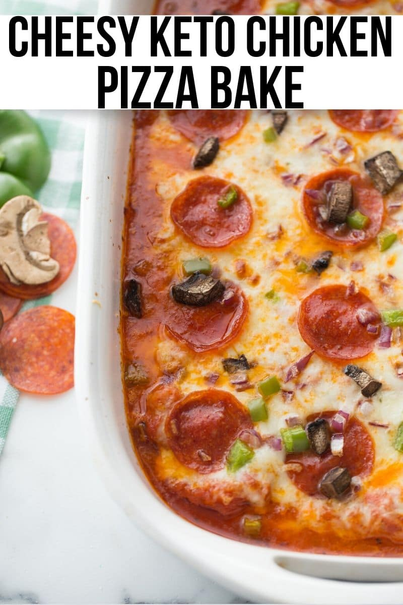 pizza casserole without a crust