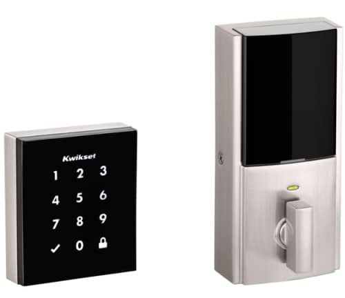 Obsidian Keywayless Electronic Touchscreen Smart Deadbolt with Z-Wave Technology