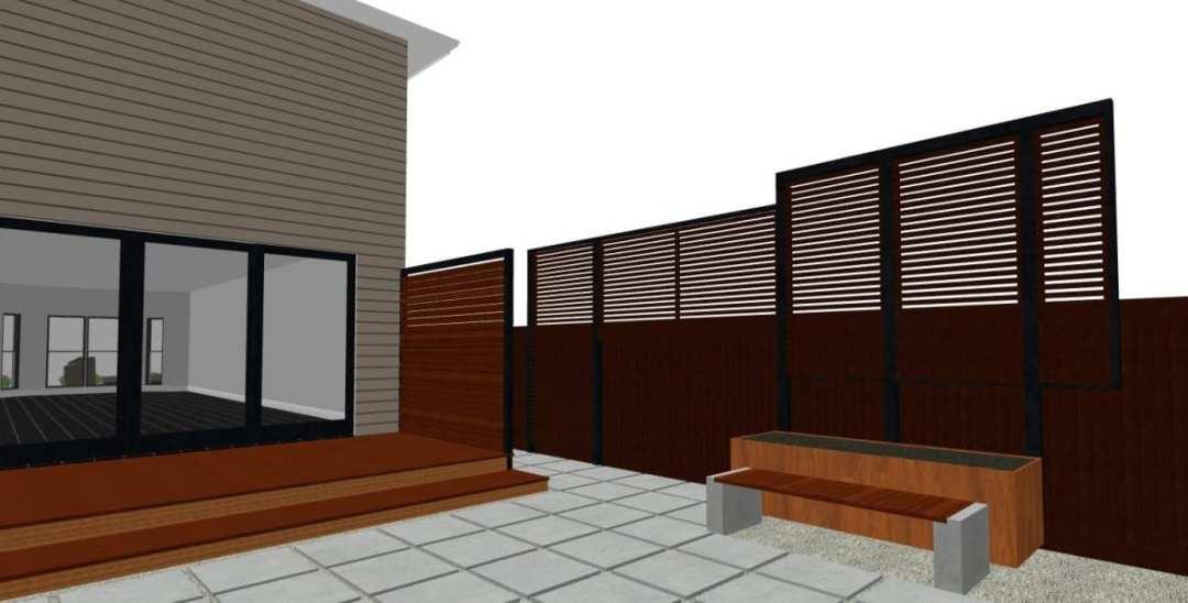 backyard screens