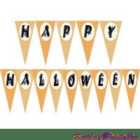 happy halloween banner png