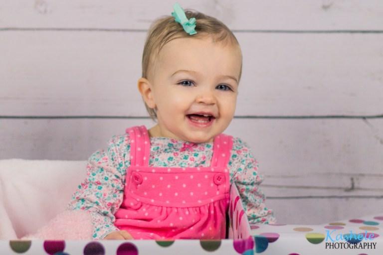 Baby Lemon's One Year Birthday Session | NSL Utah Family Photographer | Kashele Photography