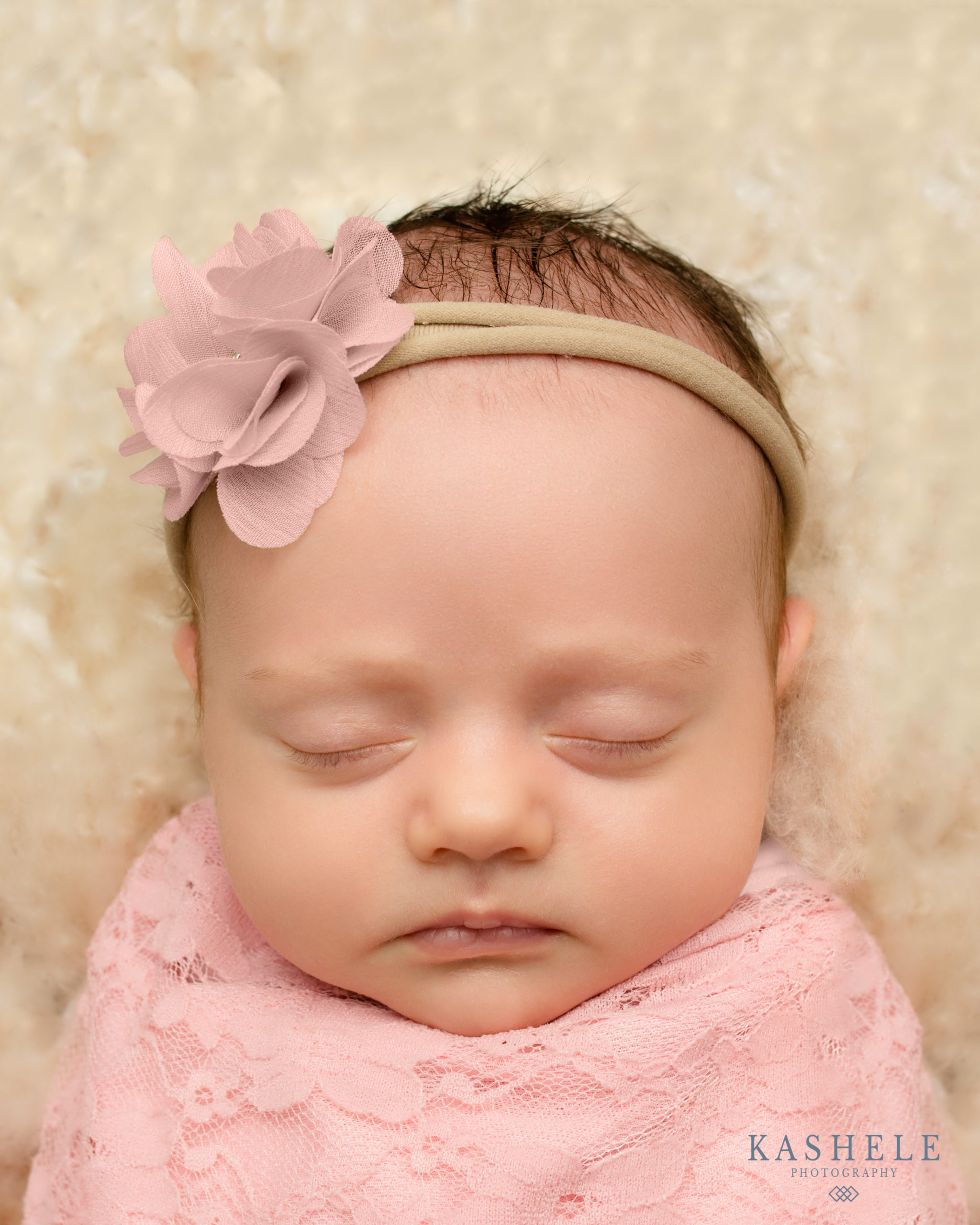 Completed portrait for newborn skin peeling professional photo editing post