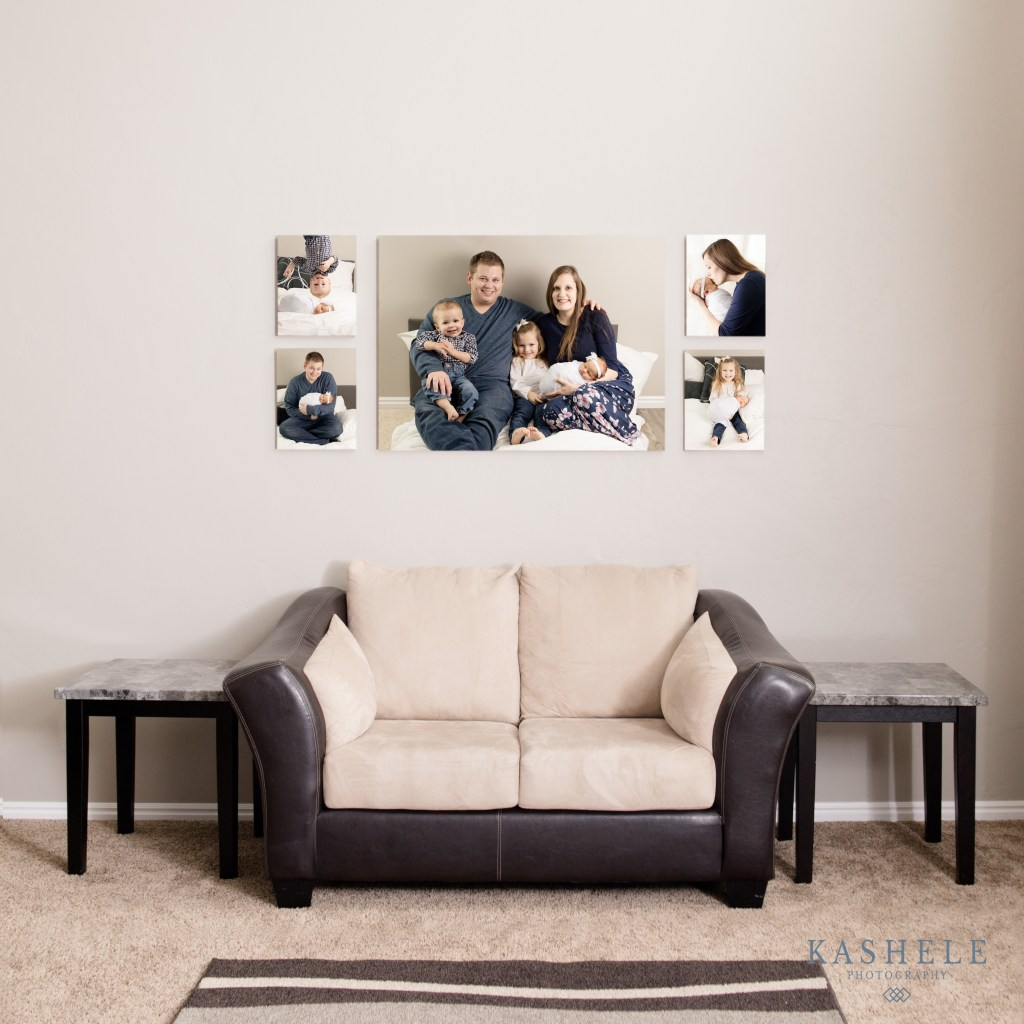 Image showing wall art displayed in a home for custom experience post
