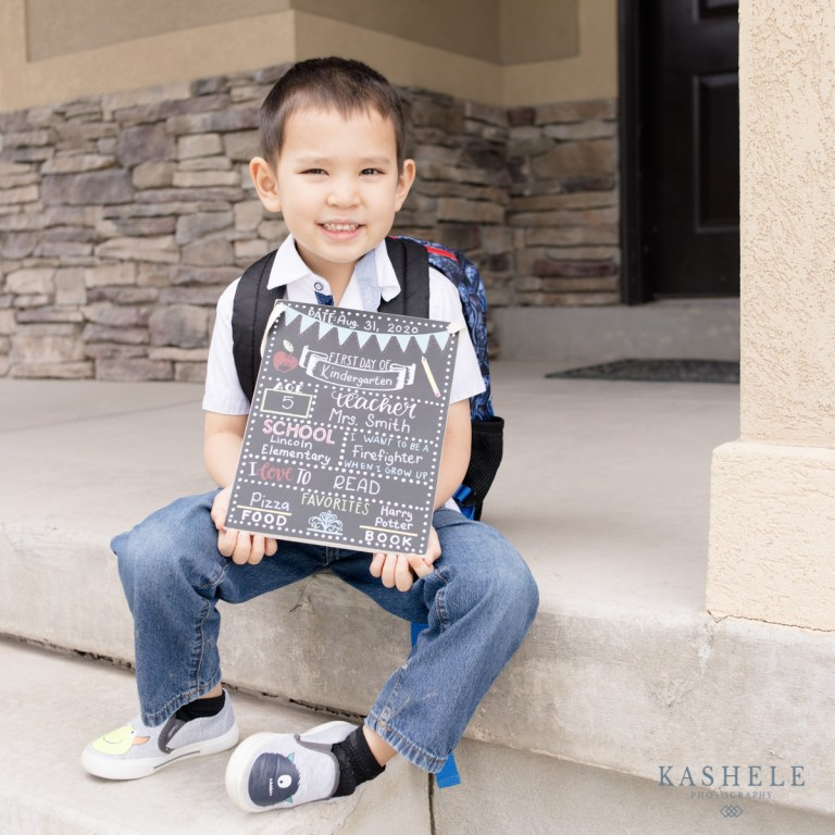 Back to School Chalkboard Sign | Commercial Photography