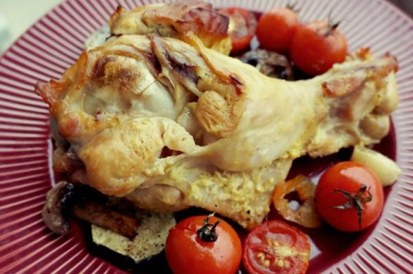 Плечо индейки в духовке рецепт с фото пошагово