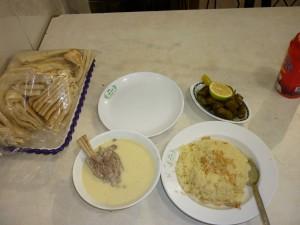 Mensaf - A Traditional Jordanian Dish