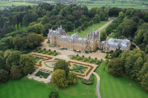 Waddesdon Manor Aerial View