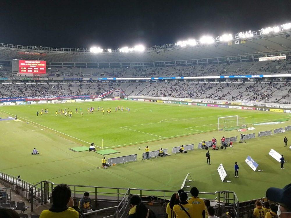 FC東京 柏レイソル サポーター ゴール裏 応援