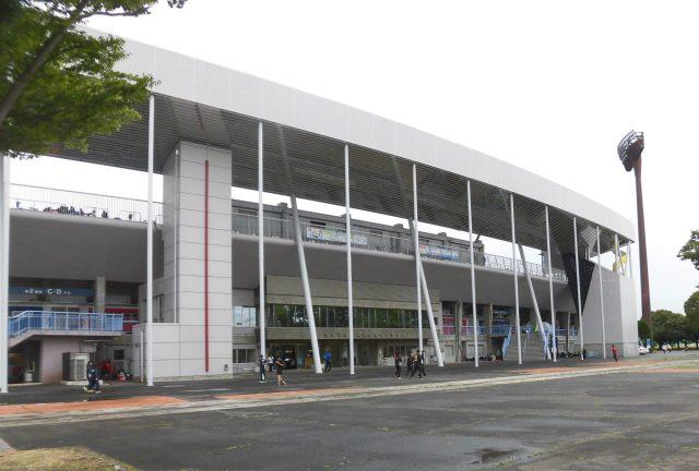笠松 陸上競技場 メインスタンド 改修