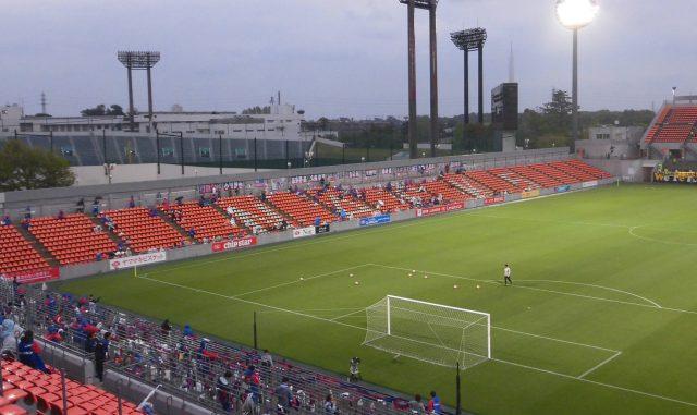 NACK5スタジアム ゴール裏 バックスタンド