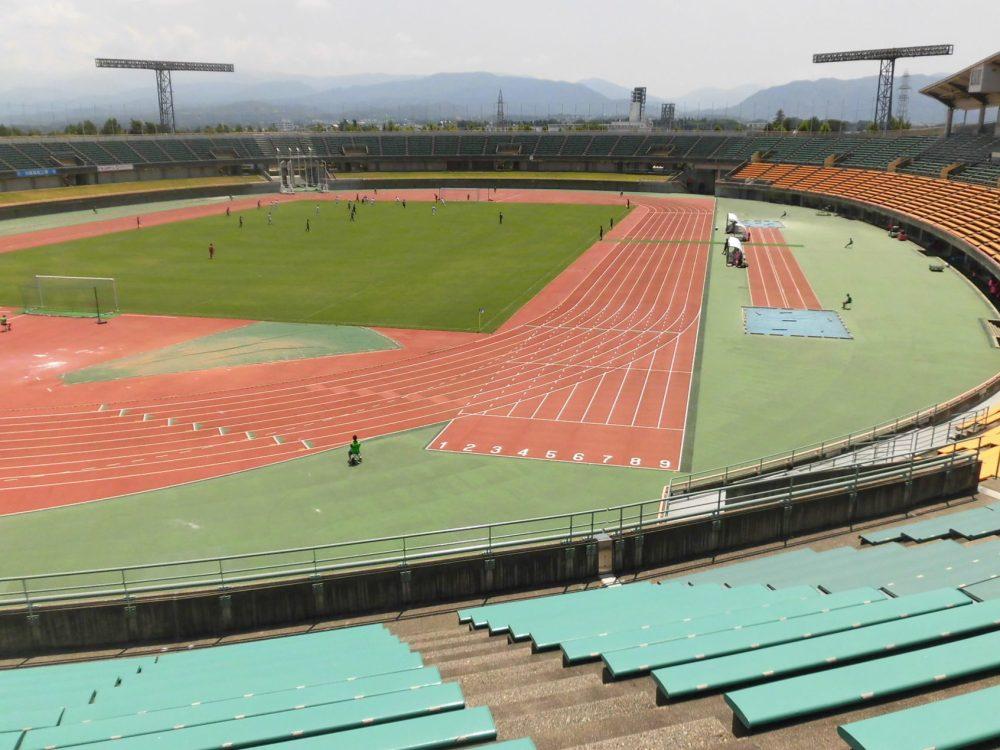 富山 陸上競技場 富山国際ユース