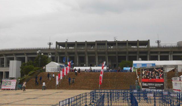 博多の森陸上競技場 日本選手権