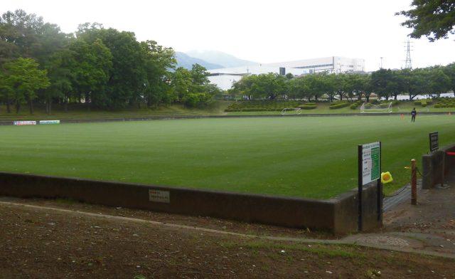 韮崎中央公園芝生広場 ヴァンフォーレ甲府 練習場 見学 一般利用
