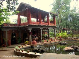 A view of the restuarant at Taj Kuteeram