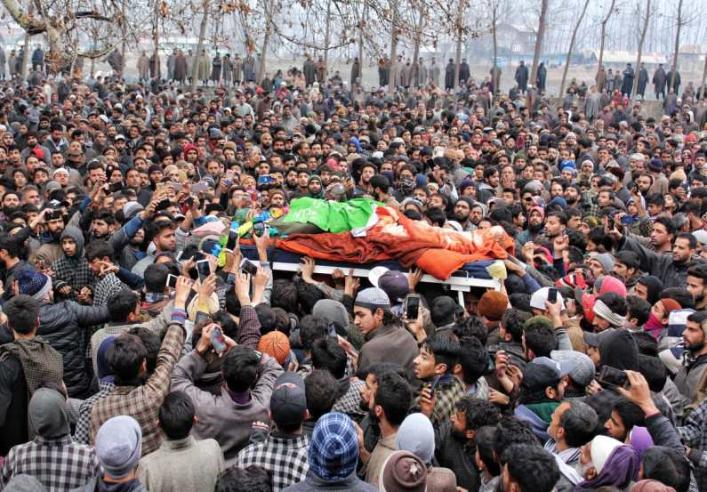 This year 266 militants spilled their blood in 345 encounters: Hizb