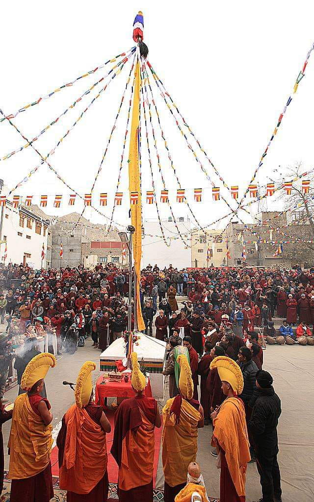 Losar Celebration held Across Ladakh with Immensely enthusiasm