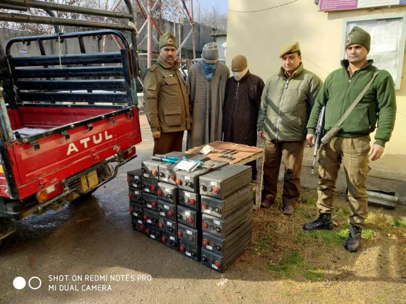 Two Bugglers held in Sopore : Police