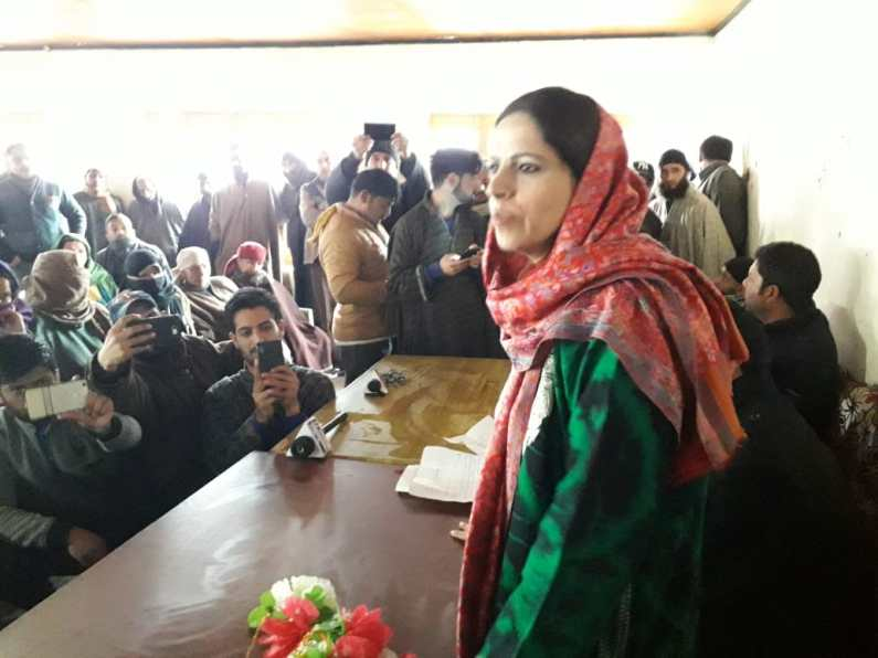 Will continue visit the families of militants : Safina Beigh