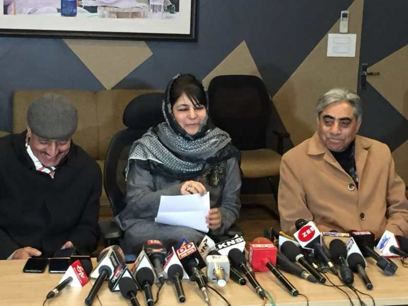 Mehbooba says Gujjars being selectively targeted in Jammu