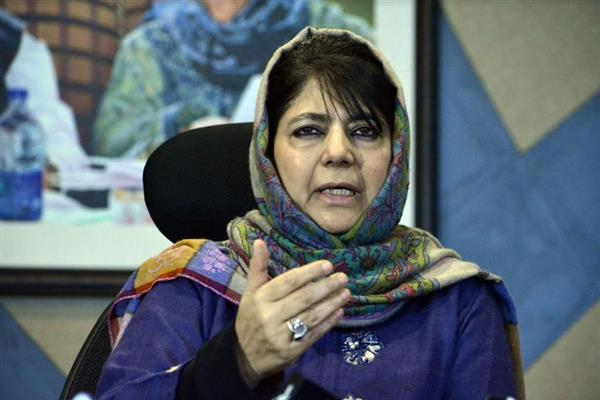 Kashmir has become ring of war for India, Pakistan: Mehbooba Mufti