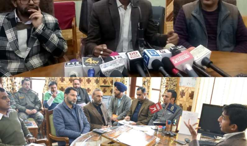 DEO holds press conference regrading election Process in Snow Bound Areas